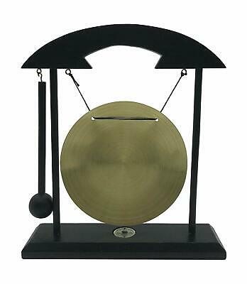 Zen Table Gong TaiChi Dragon Feng Shui Meditation Desk Bell Home Decor Gift USA 3