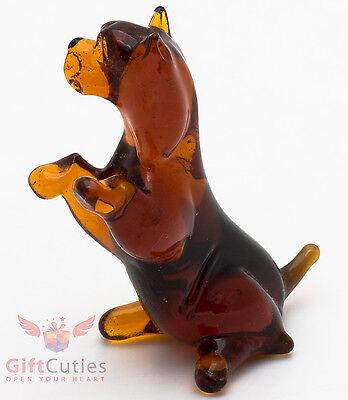 Art Blown Glass Figurine of the Australian Terrier
