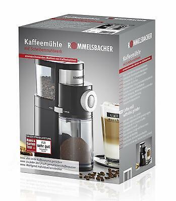 Rommelsbacher Ekm 200 Moulin de Café 2 Disques de Acier et Montage de Broyage 6