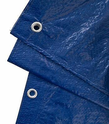 Telo Pvc Telone Occhiellato Esterno Impermeabile Esterno Blu Gazebo Piscina Wnd 8