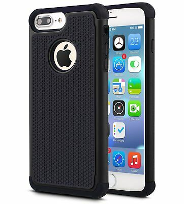 For iPhone 5 SE 6S 8 7 Plus Phone Case Hybrid Shockproof Armor Hard Cover 4