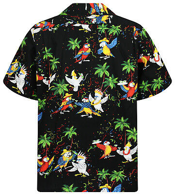 - NUOVO - Bianco pappagallo PLA ORIGINALE Hawaii vestito
