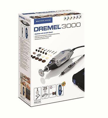 SALE - DREMEL 3000-1/25 Multi-Tool Plus EXTRAS F0133000JR 8710364074693 M 3