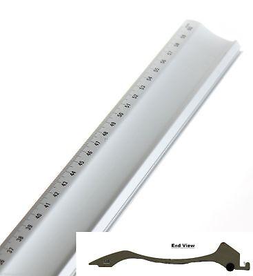 Jakar Picture Photo Mount Board Cutter & 40cm Aluminium Metal Guide Ruler Kit 3