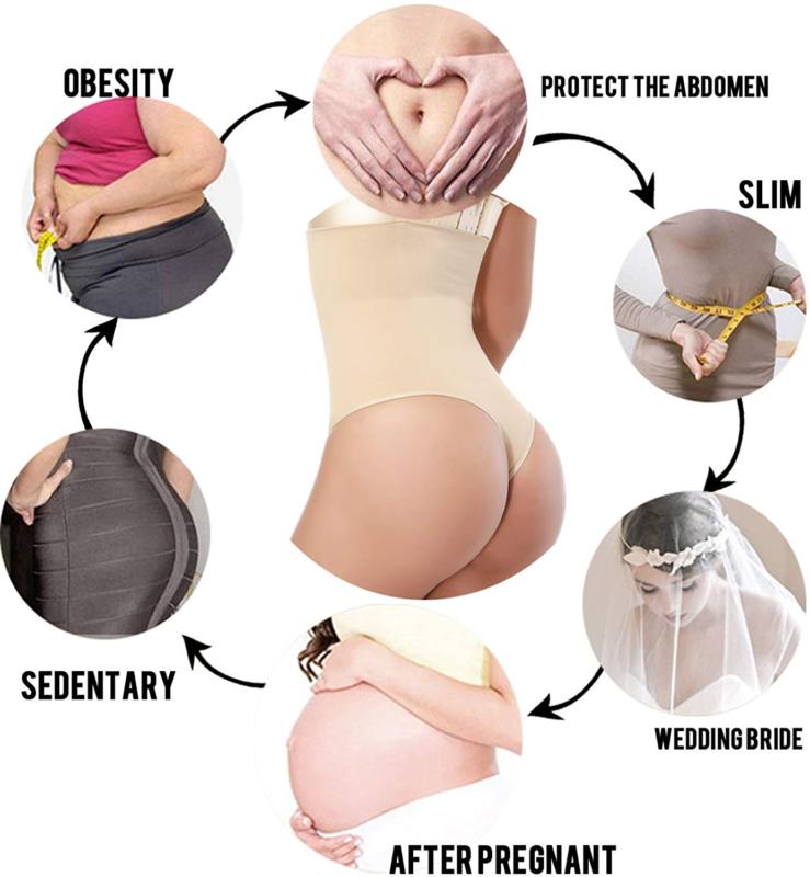 Fajas Colombianas Thong Body Shaper Slimming Shapewear Bodysuit Post Surgery US 12