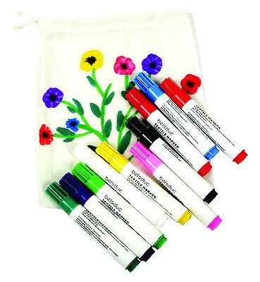 10 Textilmalstifte Stoffmalstifte Textilstifte Beleduc Stoff bemalen Stoffmaler