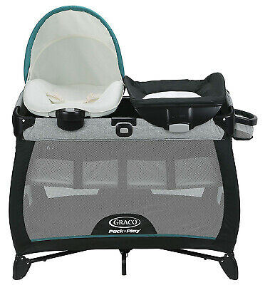 Graco Baby Pack 'n Play Quick Connect Portable Napper Playard Darcie NEW 2