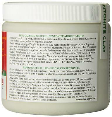 Aztec Secret India Healing Clay Facial Deep Pore Cleansing Mask 454g Genuine 4