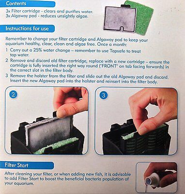 NEW!! Interpet 3 Month Service Kit - CF1 FREE UK DELIVERY!!