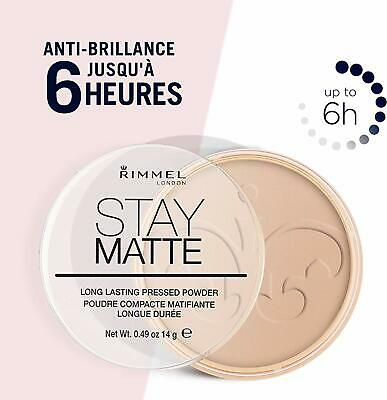 Rimmel Stay Matte Long Lasting Pressed Powder **Choose Your Shade** 2