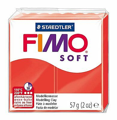 FIMO Soft Polymer Oven Modelling Clay - All 33 Colours - 57g - Buy 4 Get 1 Free 9