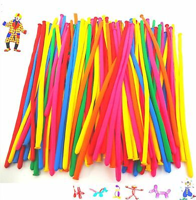 100 Mix Party Latex Modelling Balloons Birthday Kids Decorations Traditional 2