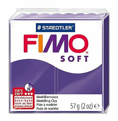FIMO Soft Polymer Oven Modelling Clay - All 33 Colours - 57g - Buy 4 Get 1 Free 5