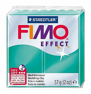 FIMO Effect Polymer Oven Modelling Clay - 36 Colours - 57g - Buy 4 Get 1 Free 6