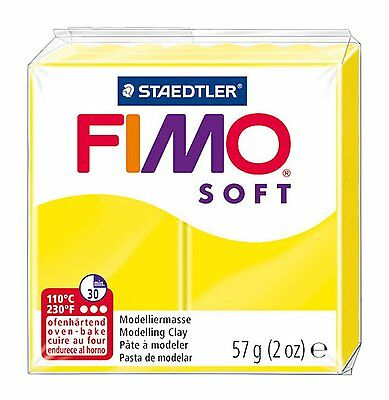 FIMO Soft Polymer Oven Modelling Clay - All 33 Colours - 57g - Buy 4 Get 1 Free 8