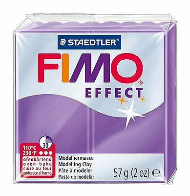 FIMO Effect Polymer Oven Modelling Clay - 36 Colours - 57g - Buy 4 Get 1 Free 5