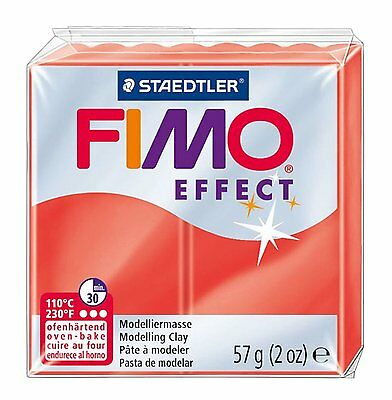 FIMO Effect Polymer Oven Modelling Clay 57g - All 36 Colours - Buy 5 Get 2 Free 6