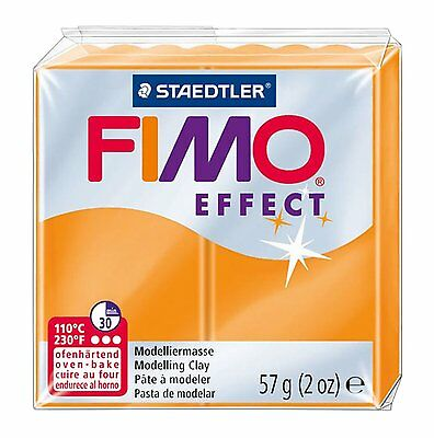 FIMO Effect Polymer Oven Modelling Clay - 36 Colours - 57g - Buy 4 Get 1 Free 4