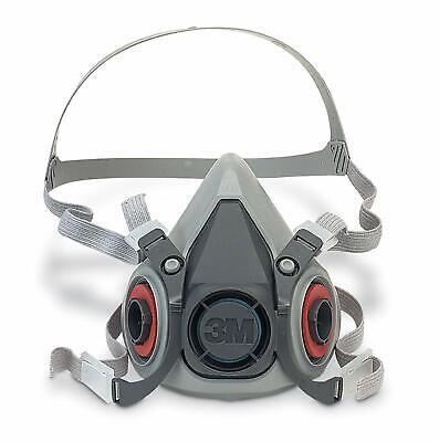 3M Dust Half Face 6000 Series Reusable Vapour 2128 filters 2