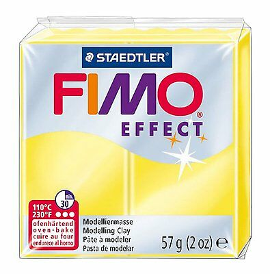 FIMO Effect Polymer Oven Modelling Clay - 36 Colours - 57g - Buy 4 Get 1 Free 2