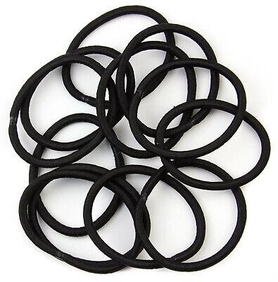 Snag Free Endless Hair Elastics Bobbles Hair Bands Black Various Sizes /& pack