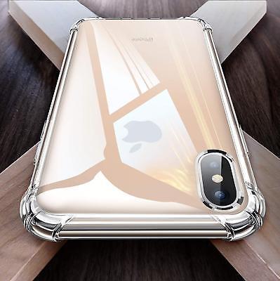 Antichoc Bumper Silicone Coque Pour iPhone XS Max 2018 XR X 8 Plus 7 Plus 6 s 4