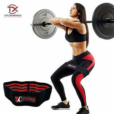 Topxtrength Resistance Hip Band Workout Legs /& Booty Exercise Small-Medium