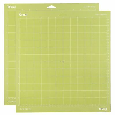 Cricut Tools Accessories Standard Grip Adhesive Cutting Mat 12 By 12 Set Of 2 3
