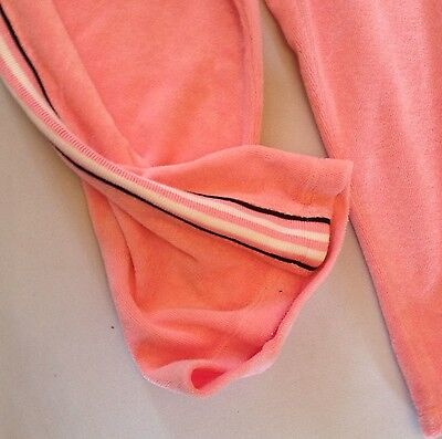 Girls Juicy Couture Towelling Varsity Crop Tracksuit Age 14 Rrp£175 Now£40.50 4