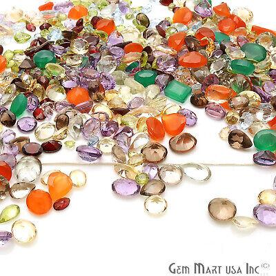 Choose Mixed Gems Lot Mix Faceted Cut Semi Precious Stone Natural Loose Gemstone 5