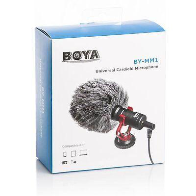 "BOYA Cardiod Shotgun Microphone MIC Video for Smartphone DSLR ""US Seller"" 9"