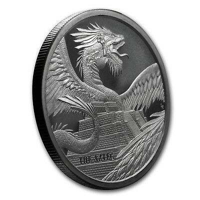 1 oz Silver Round - World of Dragons (The Aztec) - SKU#178949 3