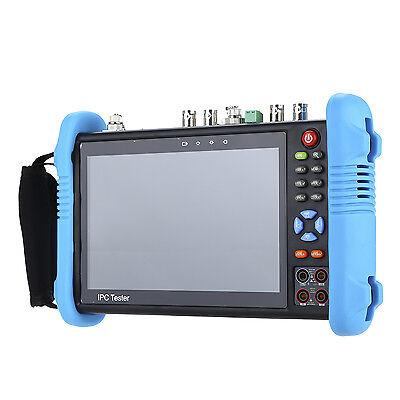 "7 ""4 Karat CCTV IP Tester Monitor TVI CVI CVBS Kamera Multimeter PTZ POE Test"