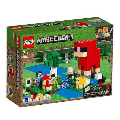 LEGO Minecraft 21154 21153 Die Brücke Die Schaffarm Steve-Minifigur  N8/19 3