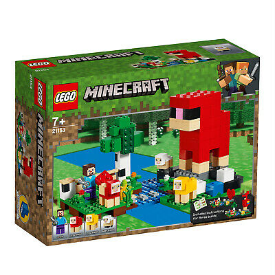 LEGO Minecraft 21155 21153 Die Creeper™ Mine Die Schaffarm Steve  N8/19 3