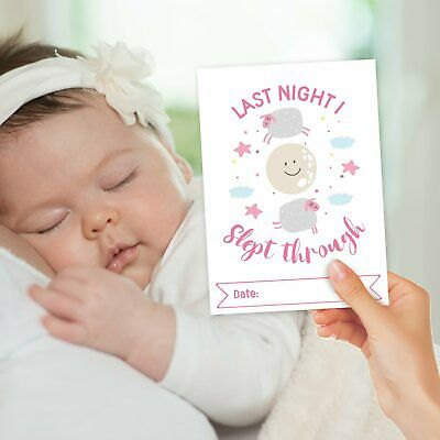Baby Milestone Cards ~ 1st Year Memorable Moments Girl Girls Age 5