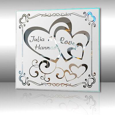 Motivspiegel Liebe 12 Herz Geschenk Liebesbeweis Jahrestag
