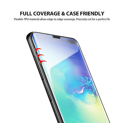 Galaxy S10 S10+ S9 S8 Plus ZUSLAB Full Cover Screen Protector for Samsung X 3 5
