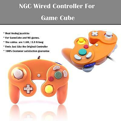 2Pack Wired NGC Controller Gamepad for GameCube NGC GC & Wii Console 8