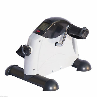 Portable Mini Pedal Exercise Bike Indoor Cycle Fitness Hand Foot w/ LCD 5