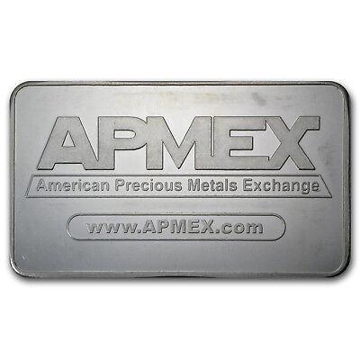 10 oz Silver Bar - APMEX (Original Design) - SKU #69540 2