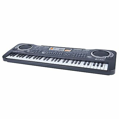 61 Keys Digital Electric Piano Music Electronic Keyboard Organ Mini Microphone 9
