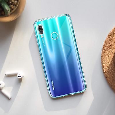 Cover Custodia + Pellicola Vetro Temperato Per Huawei P Smart 2018 2019 5