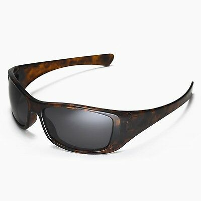 8aa1e606c3 3 of 5 New Walleva Polarized Black Replacement Lenses For Oakley Hijinx  Sunglasses