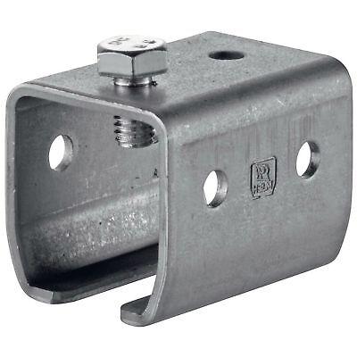 HELM Agrar Schiebetür Beschlag Schiebetorschiene Stahl verzinkt Type 300 Woelm