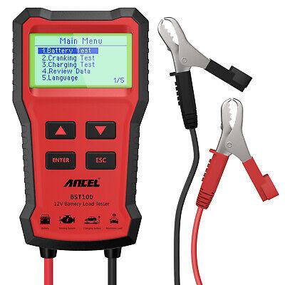 ANCEL BST100 12V 220Ah 2000CCA Battery Load Tester Vehicle Battery Analyzer Tool 7