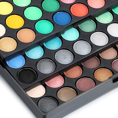 120 Colors Earth Cosmetic Powder Makeup Naked Matte Shimmer Eye Shadow Palette 2