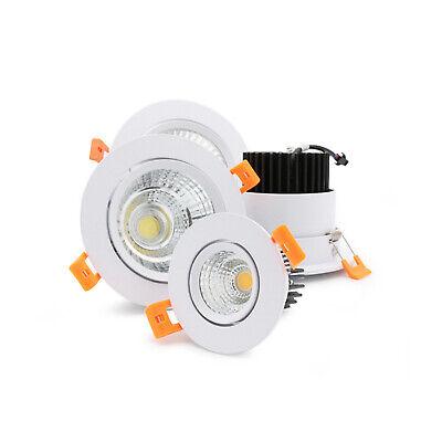 3W 5W 7W 9W 12W 15W 20W COB LED Cabinet Recessed Ceiling Down Spot light Driver 5