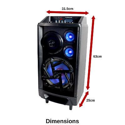 Portable Karaoke Machine Home Audio Bluetooth Speaker System Wireless Microphone 2