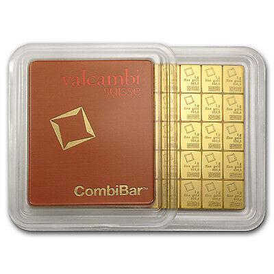 50x 1 gram Gold CombiBar™ - Valcambi (In Assay) - SKU #74946